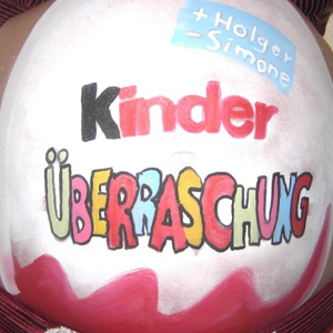 Bellypainting Kinderüberraschung
